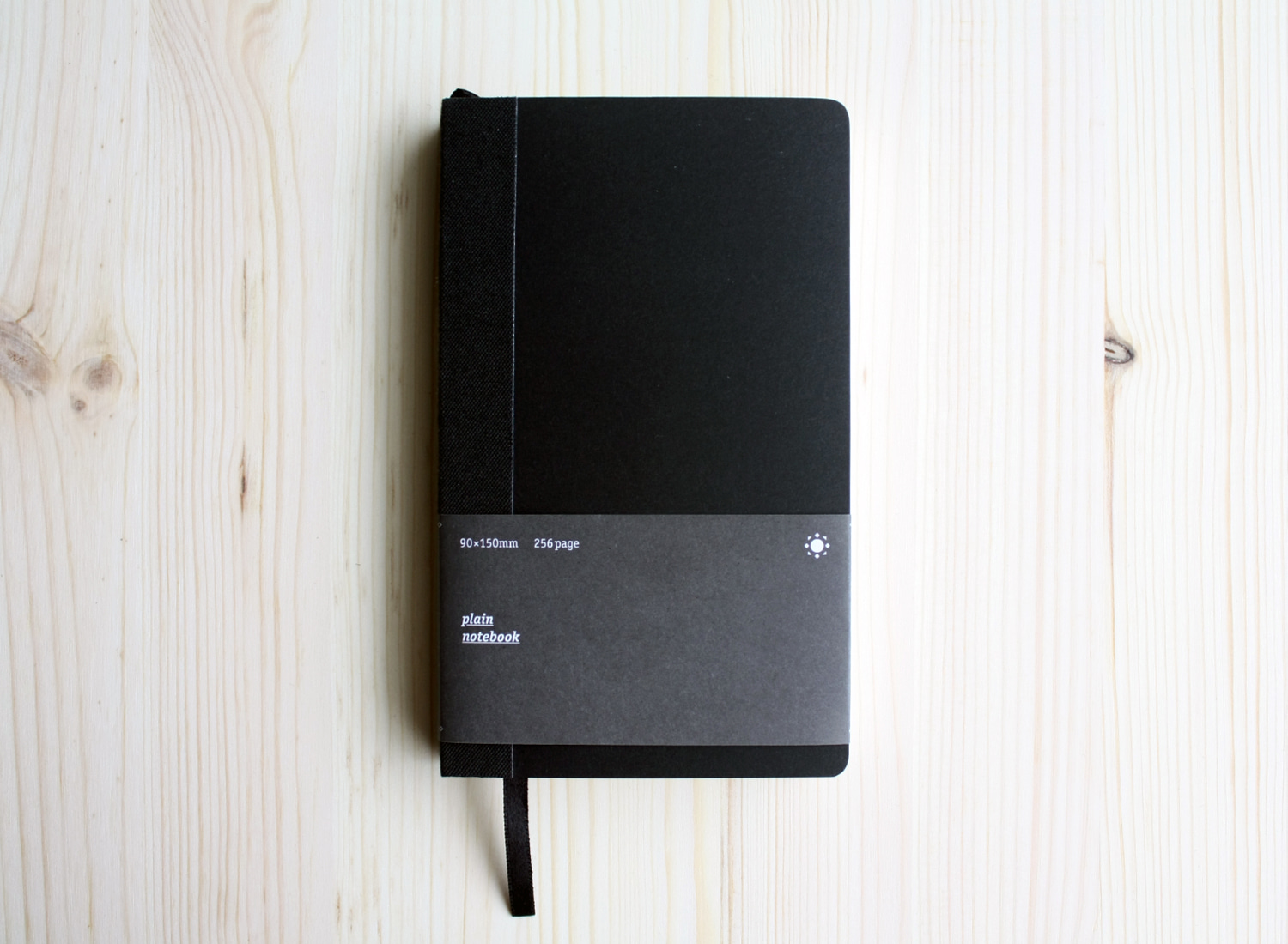 Plain Notebook P black